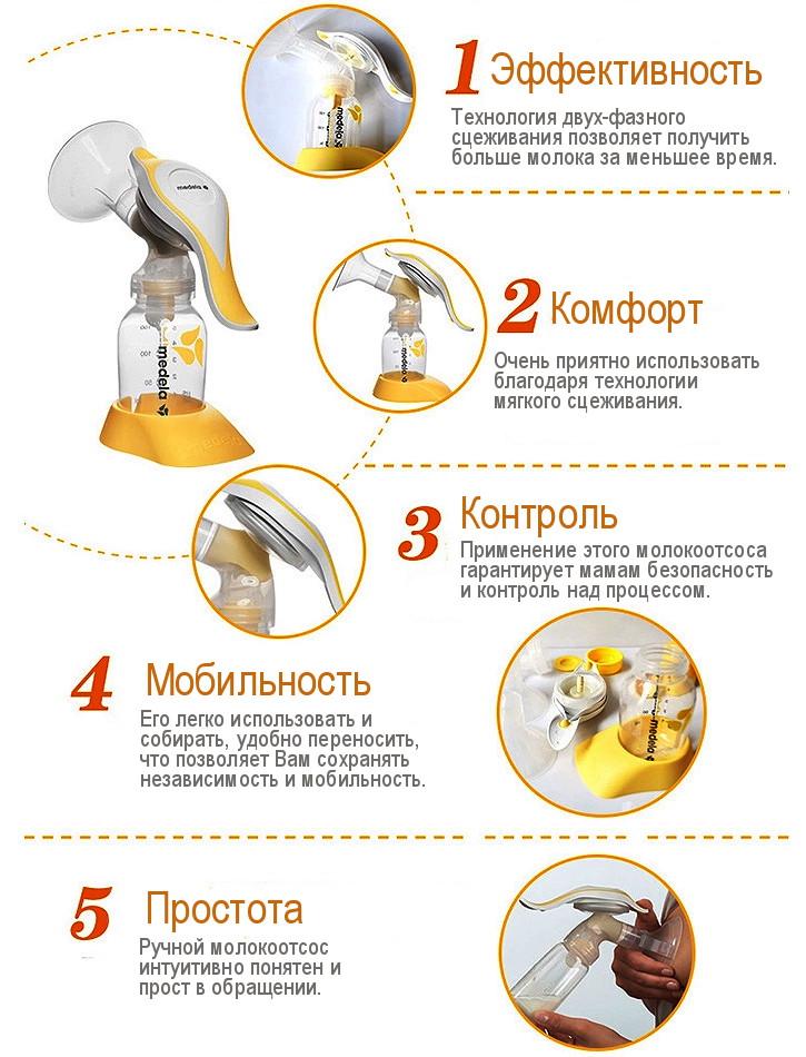 Молокоотсос Медела Ручной Инструкция По Применению - фото 11